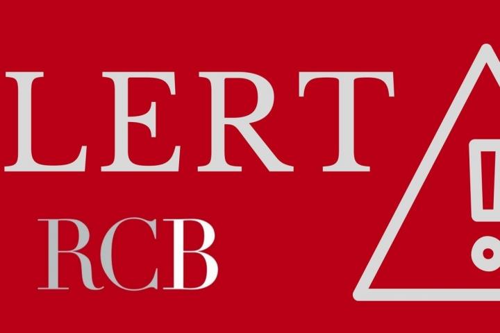 Alert RCB logo